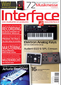 Interface voorpagina